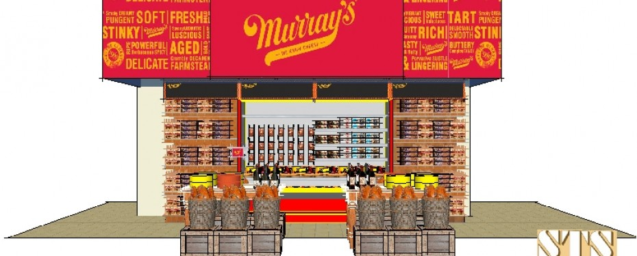Murray's Cheese store-within-a store Kiosk at Kroger Co. Supermarkets