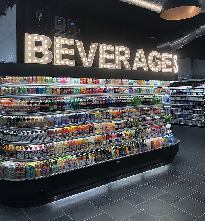Beverage display